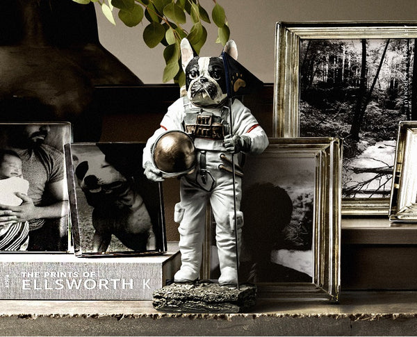 Bulldogs Astronauts Home Accents - fourlinedesign