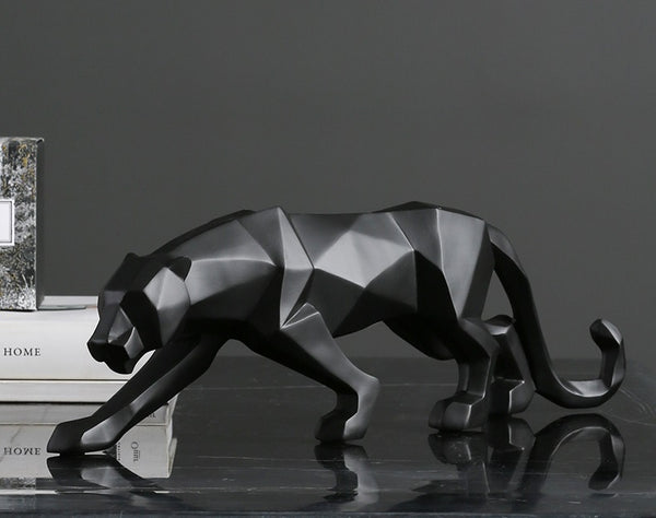 Geometric Panther Centerpieces - fourlinedesign