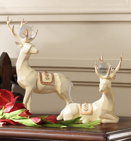 Decorative Deer Home Accents - fourlinedesign