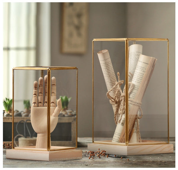 Glass Box Figures Figurines - fourlinedesign