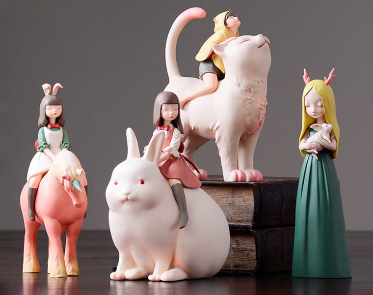 Fairy Family Sculptures