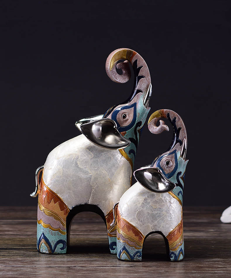 Elephant Family Figurines - fourline design