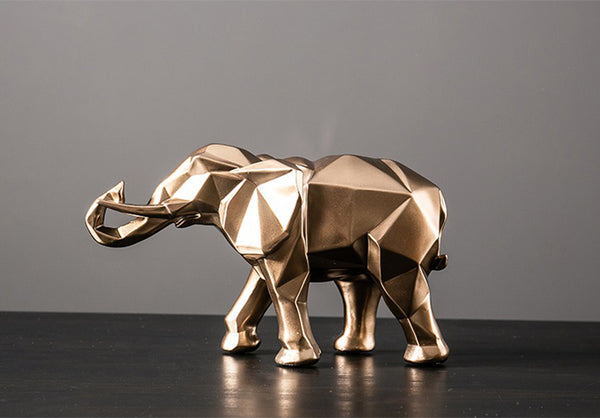 Golden Elephant - fourlinedesign