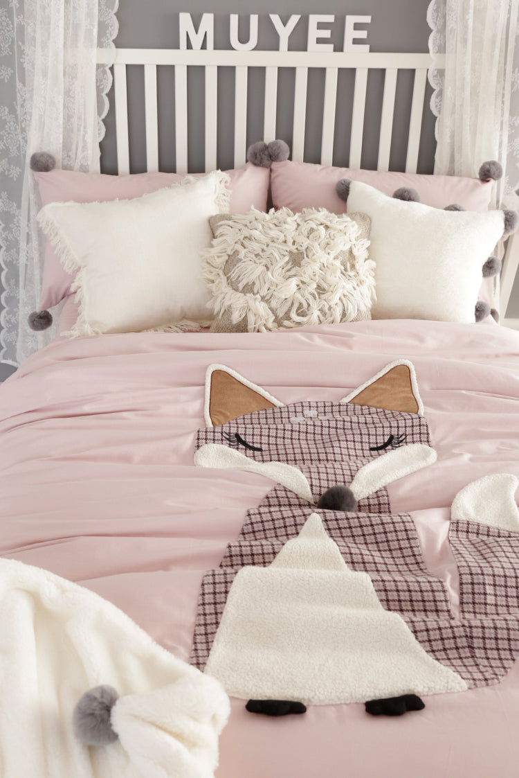 Foxy Bedding Set King Size - fourline design