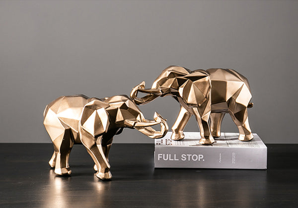 Golden Elephant - fourline design