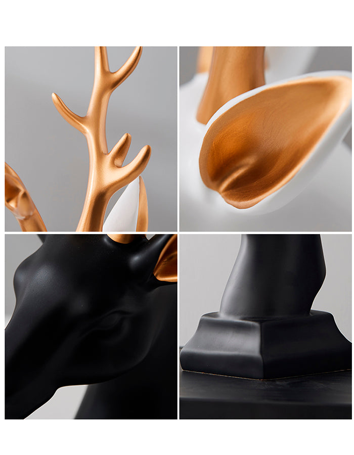 Deers Book Holder Centerpieces - fourline design
