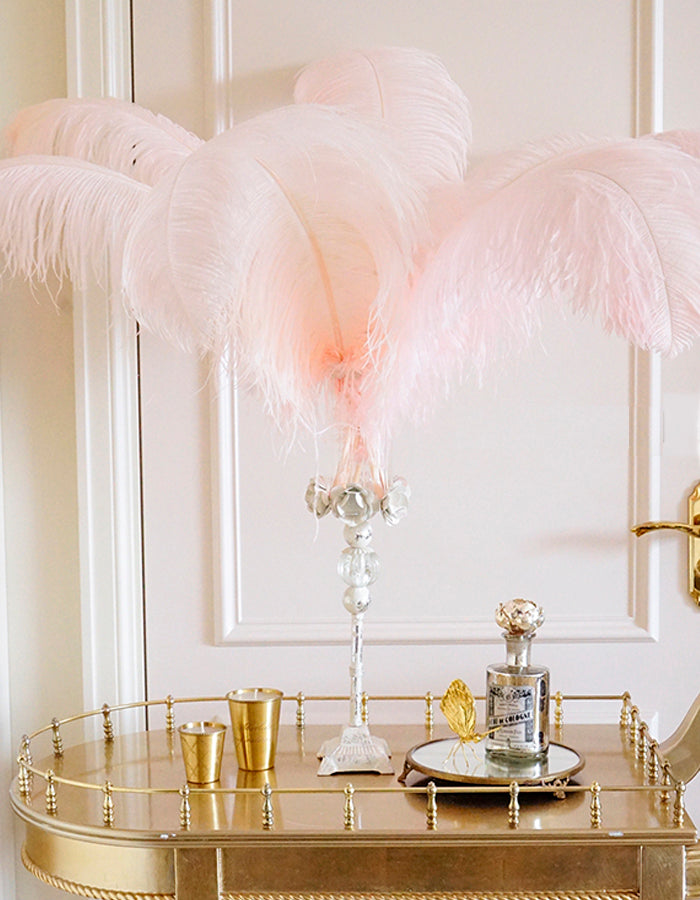 Feather Stand Centerpieces - fourline design