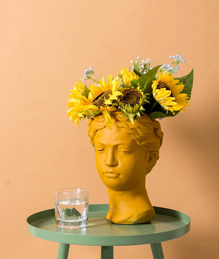 Muse Flower Pot | Home Decor - fourlinedesign