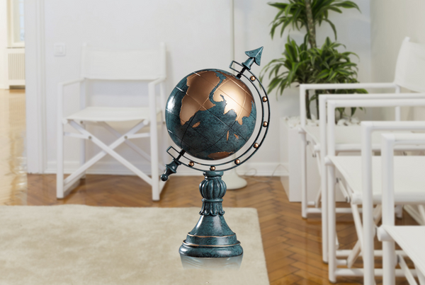 World Globe Ornaments - fourlinedesign