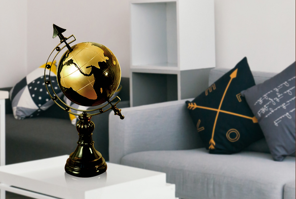 World Globe Centerpieces - fourlinedesign