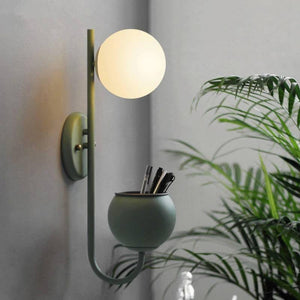 Remy Planter Wall Lamp