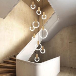 Jaydon Rings Chandelier