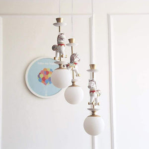 Carousel Chandelier - fourlinedesign