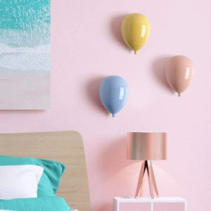 Ceramic Balloons Kids Room Wall Decoration - fourlinedesign
