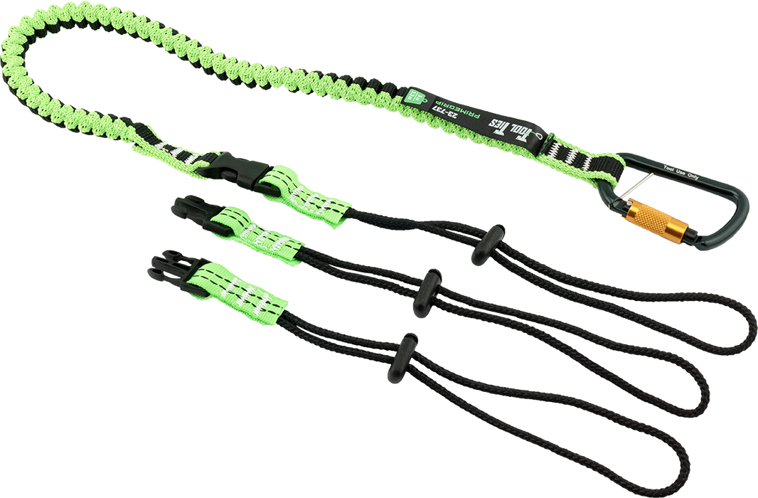 "Primegrip Tool Tie 5 lb Tool Lanyard with 3 Tool Links - 70"" - 23-737"