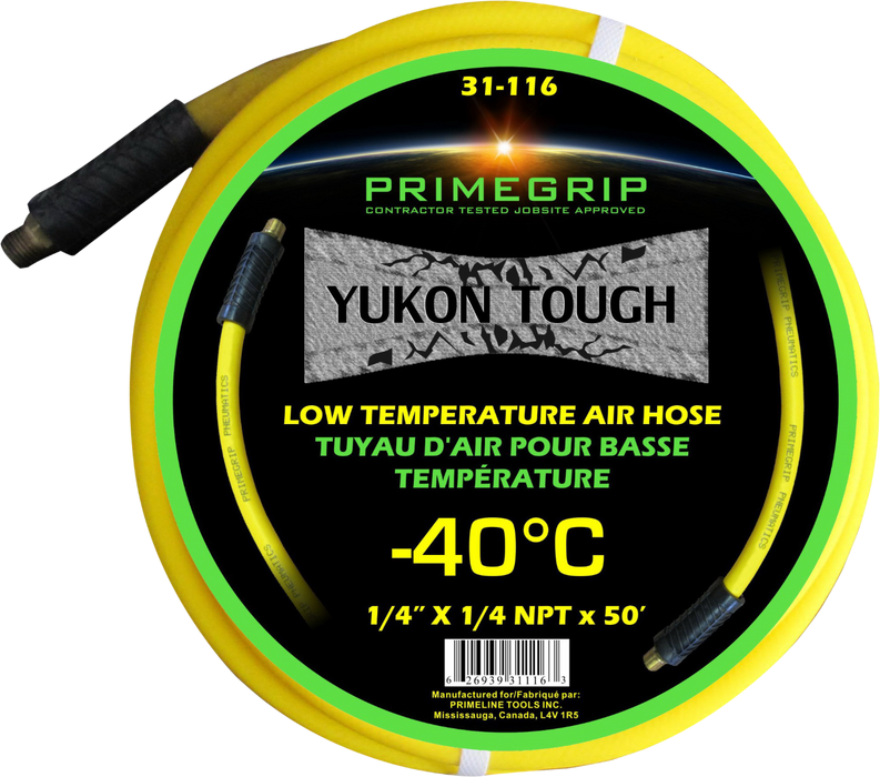 "Primegrip 1/4"" x 50' Low Temperature/Cold Weather  Air Hose"