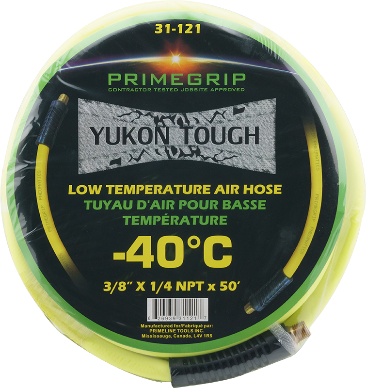 "Primegrip 3/8"" x 50' Low Temperature/Cold Weather Air Hose"
