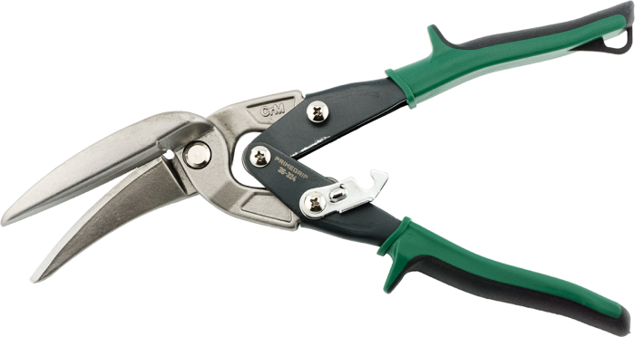 Primegrip Offset Long Cut Right Aviation Snips - 36-324