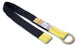 "Super Anchor 72"" Value Tie Off Strap - 2″ Webbing with Black Sleeve - D-ring and Loop End 6058D"