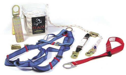 MAX Fall Protection Kit, 50 ft lifeline # 3001