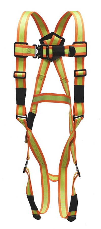 Super Anchor Pro Series Harnesses with D-Ring – Hi Viz P6001
