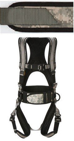 Deluxe Harness w/ Tool Bag Combo (Digital Camo w/ Green)(Large Long) # 6151DGLL