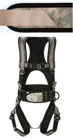 Deluxe Harness w/ Tool Bag Combo (Digital Camo w/ Tan)(Large Long) # 6151DTLL