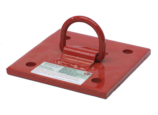 Super Anchor D-Plate Anchor 1038 - Red Powder Coated
