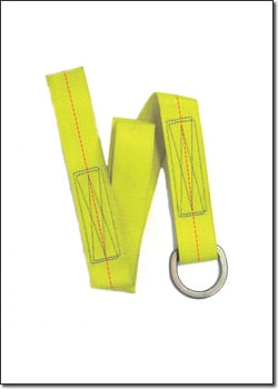 3' Value Strap w/ Loop & D-Ring End # 6050D