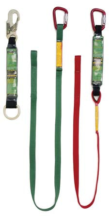 "72"" E-4 Energy Absorbing Web Lanyard w/ Snaphook & Loop End # 6027"