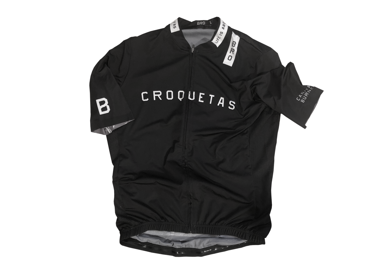 BRO Croquetas Cycling Maillot. Woman