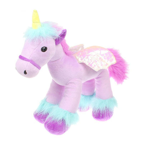Purple Unicorn Plush Toy