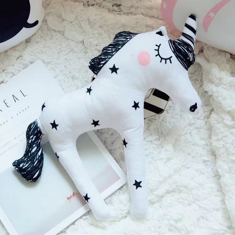 Sketched Unicorn Plush