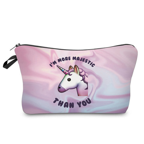 """I'm More Majestic"" Cosmetic Bag"