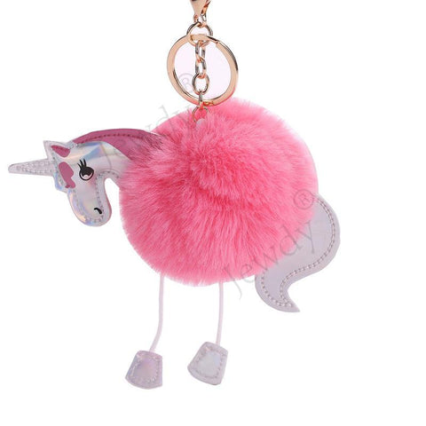 Unicorn Dangle Pom Chain