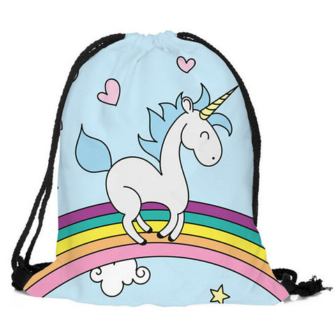 Drawstring Unicorn Bag G