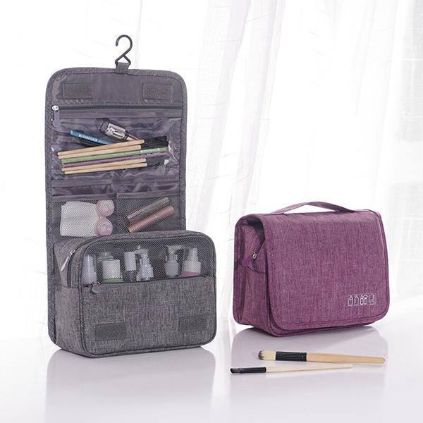 Travel Toiletry Organizer Storage Cosmetic Bag