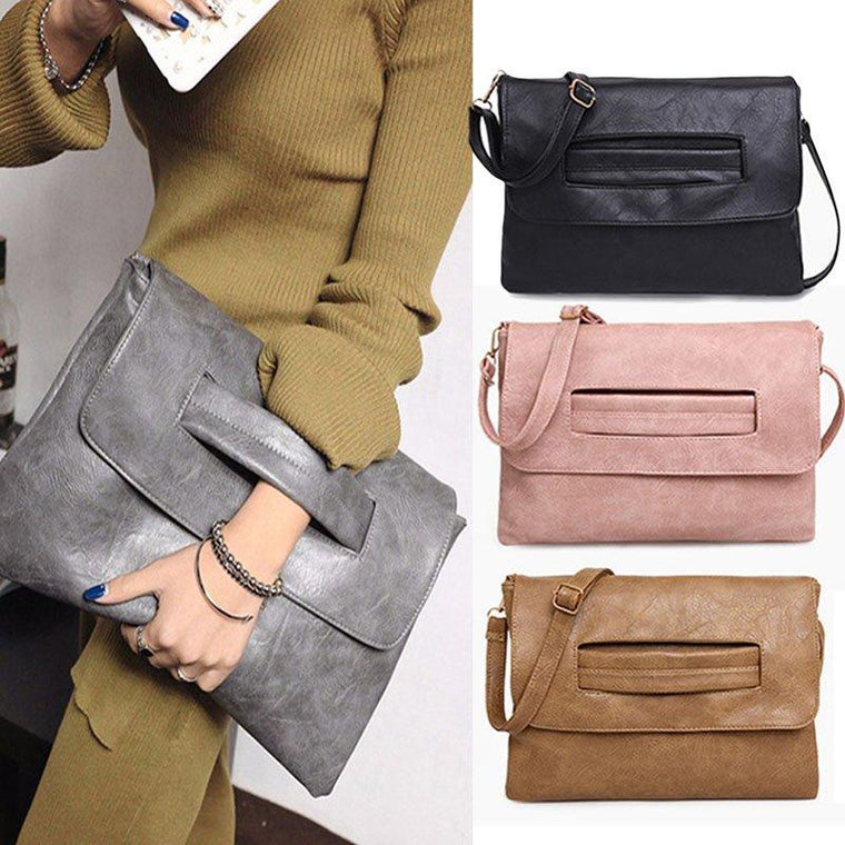 Women PU Envelope Trendy Work Bags Handbag