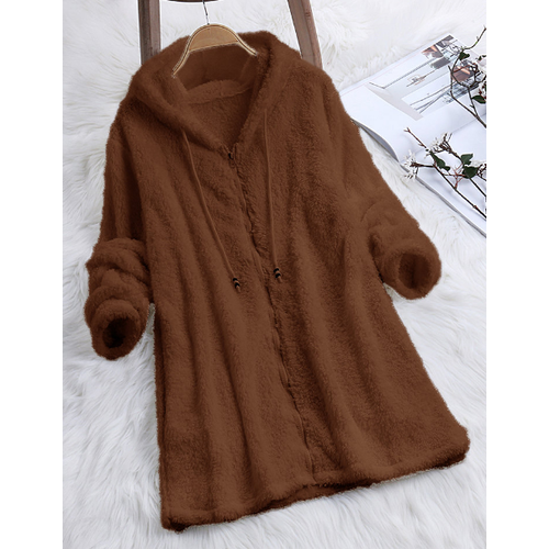 Fashion Style Double Sided Sweater Sweater with Side Pockets