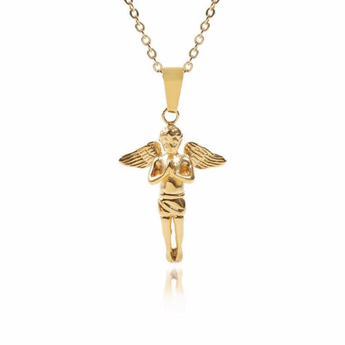 GOLD CHERUB CHAIN - GOLD