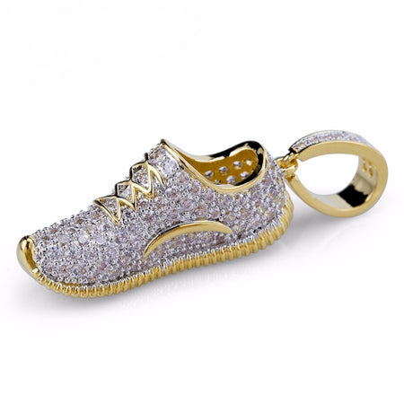 yeezy sneaker necklace pendant, iced out range by SG Apparel and Sam Gowland