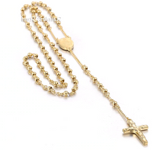 ROSARY BEADS - GOLD