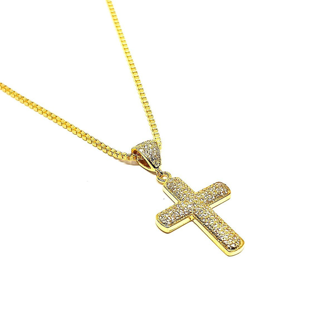 iced cross necklace by sam gowland from geordie shore. sg apparel diamond cross