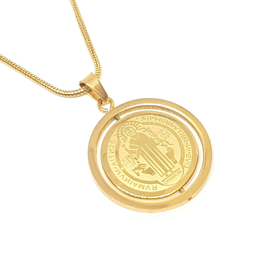 GYRO MEDALLION - GOLD