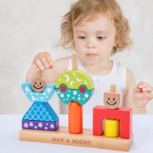 Educational Wooden Block toy for Kids!