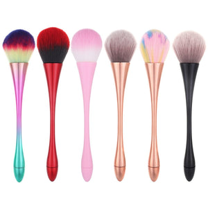 Make-up Brush Aluminum