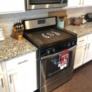 Farmhouse Stove Top Cover