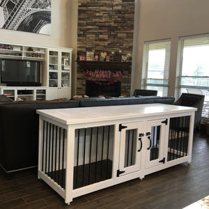 Custom Metal Dog kennel Built to last