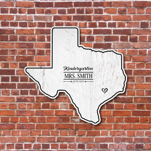 Texas Teacher Signature Book | Houston Texas | RedMerle Designs | Gift