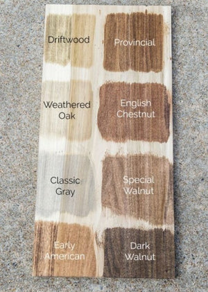Minwax Color Chart